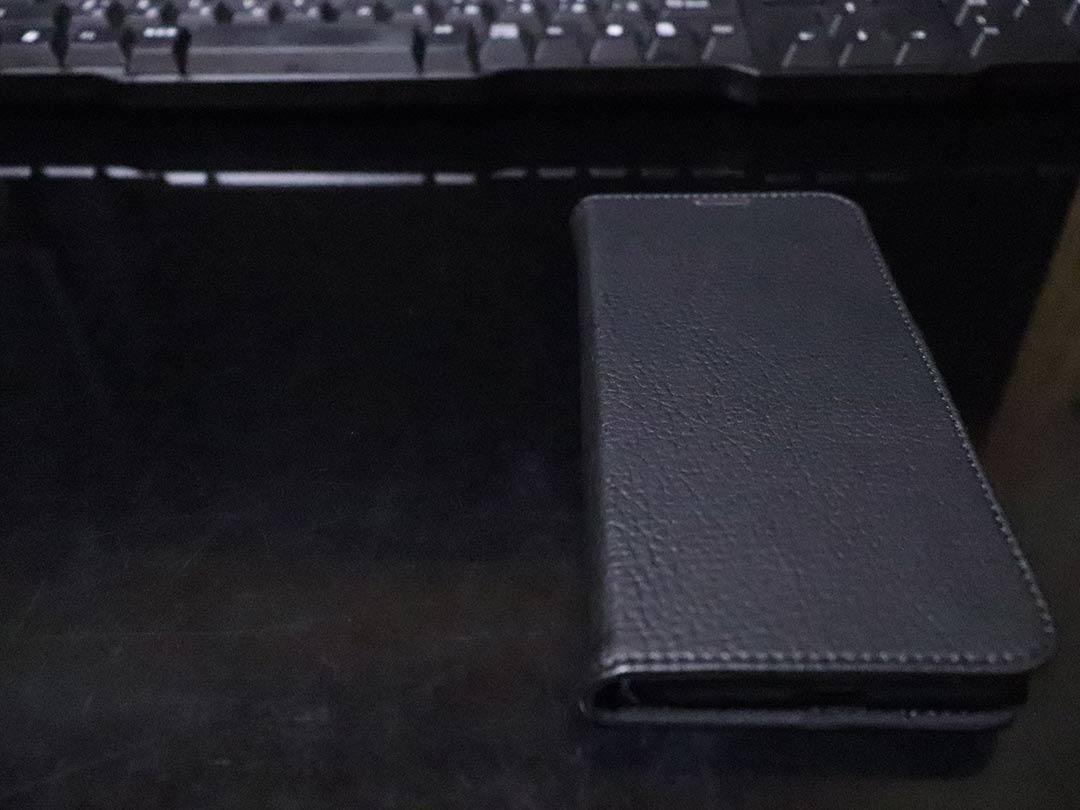 スマートウェイク機能付き手帳型スマホケース simplismのflipnoteslim