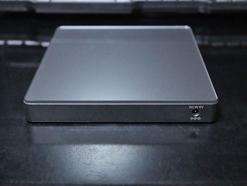 DVDミレル DVRP-W8AI2の電源入力ジャック