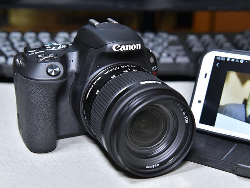 Canonのデジタル一眼レフカメラとスマホをWi-Fi接続してリモート撮影!