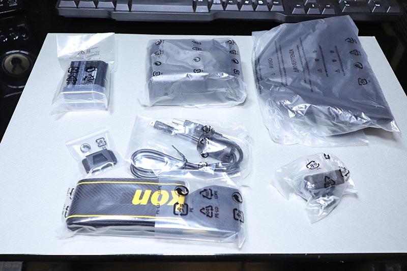 Nikon D750 24-120mmレンズキットの付属品