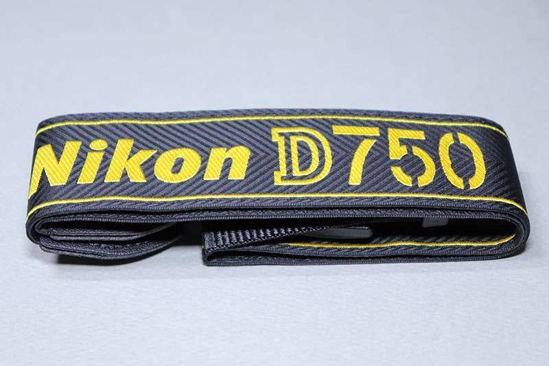 Nikon D750専用ストラップ AN-DC14