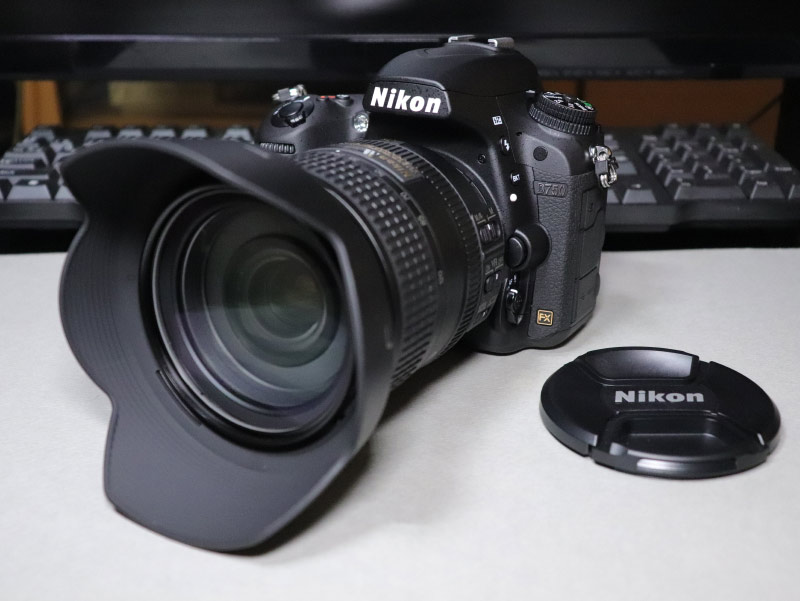 Nikon D750 24-120mmレンズキットをブログでレビュー!