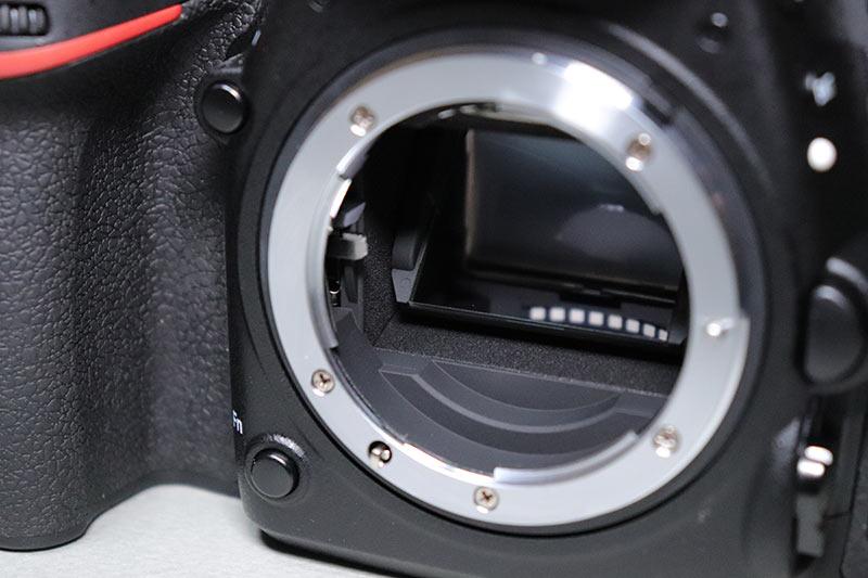 Nikon D750の反射ミラー