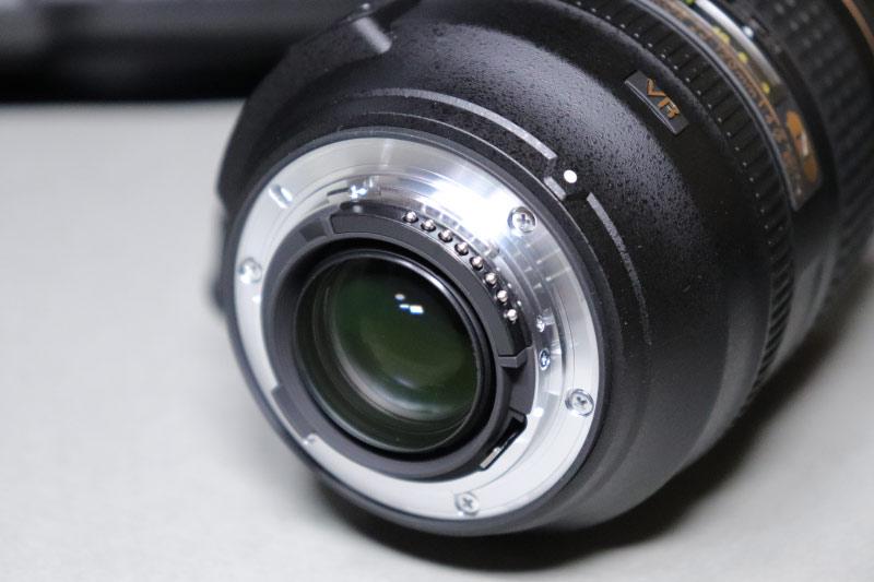 Nikon AF-S Nikkor 24-120mm の後ろ玉レンズ
