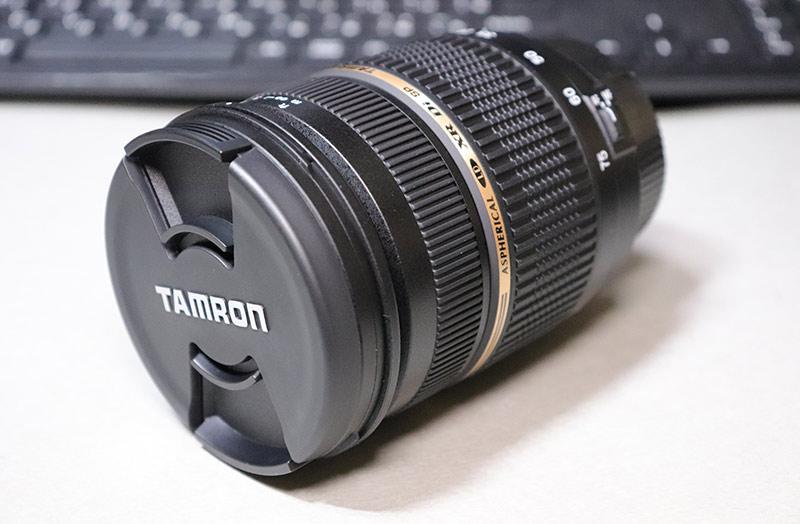 タムロン 28-75 F2.8 ズームレンズのフロントレンズキャップ