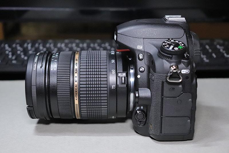 タムロン SP AF 28-75mm F2.8 Diのサイド1