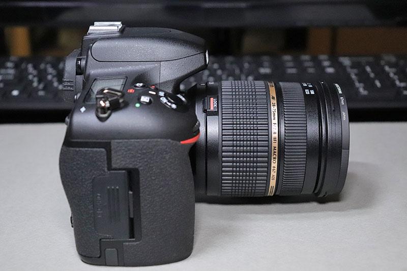 タムロン SP AF 28-75mm F2.8 Diのサイド2