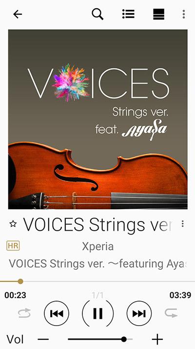 ハイレゾ 無料 ダウンロード VOICES Strings ver