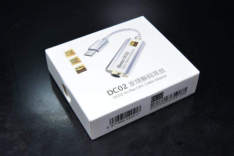 USB DAC iBasso-DC02のレビュー ボックス