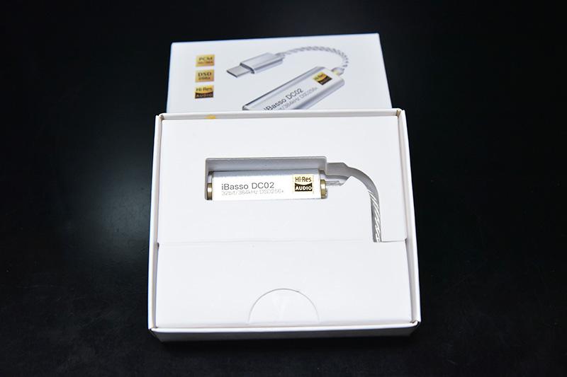 ボックスの中のUSB DAC iBasso-DC02のレビュー