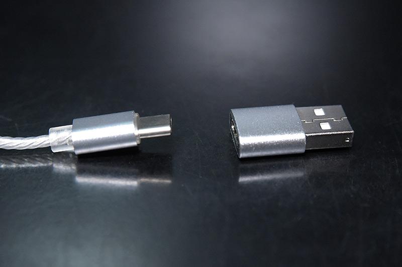 USB Type-C対応のiBasso-DC02とType-Aコンバーター