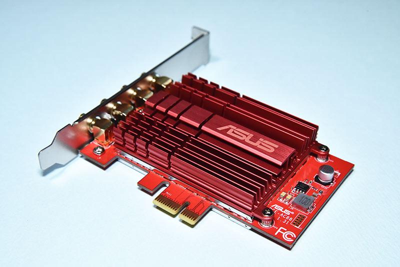 無線LANカード ASUS PCE-AC88のレビューと取付方法!