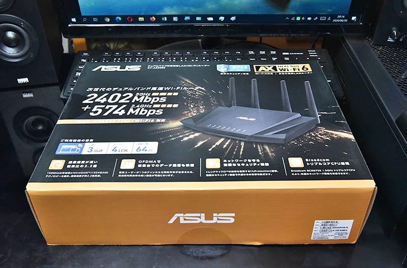 ASUS RT-AX3000のボックス