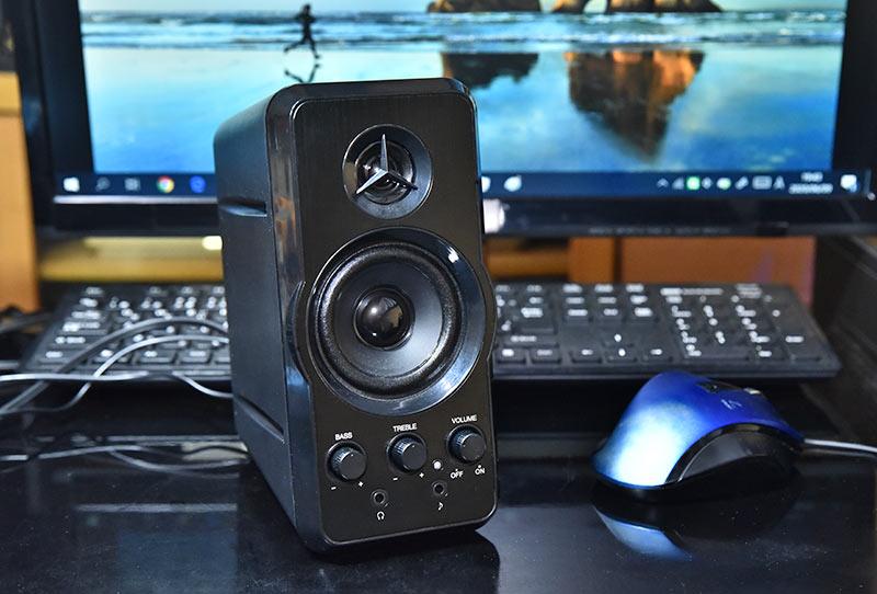 マルチメディアスピーカー MM-SPL6BK