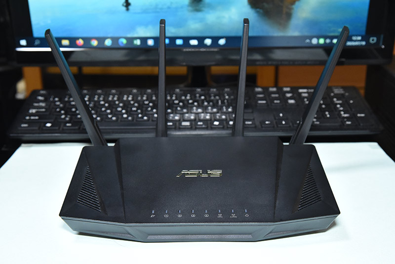 11ax対応の高速無線LANルーター RT-AX3000