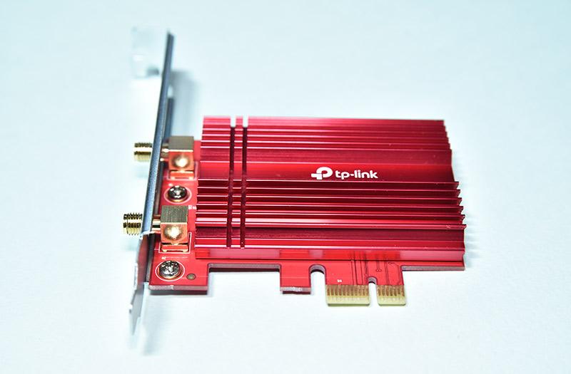 無線LANカード Archer TX3000Eのヒートシンク