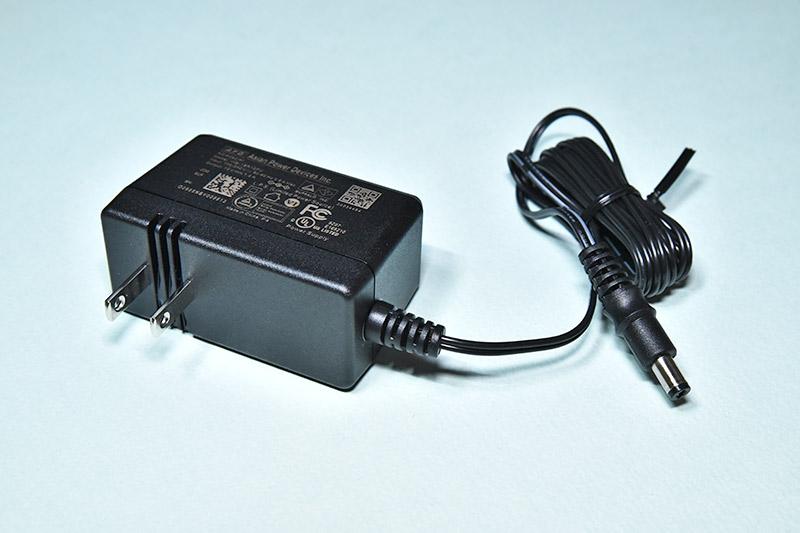 外付けハードディスク HD-AD4U3のACアダプター