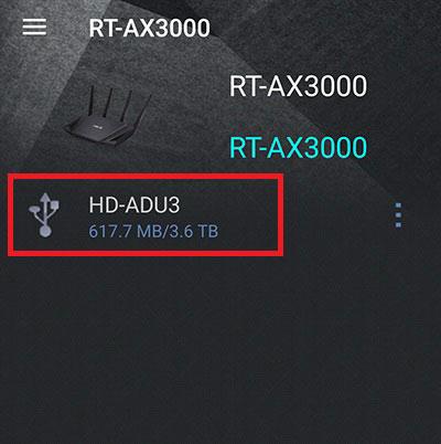 アンドロイドスマホでハードディスク HD-AD4U3にアクセスする方法