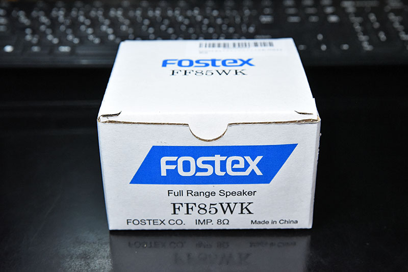 FOSTEX FF85WKのボックス