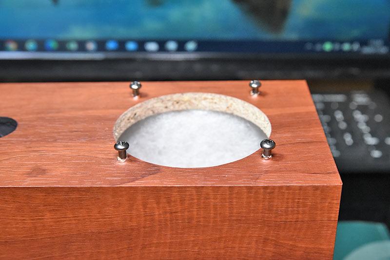 かんすぴ P800-Eの作り方 木ネジ