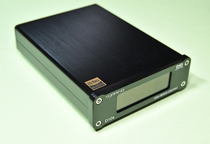 DSDネイティブ再生対応のハイレゾ対応 TOPPING D10s USB DAC