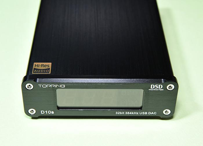 ハイレゾ対応 TOPPING D10s USB DAC
