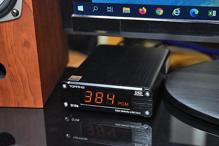 TOPPING D10s USB DACでハイレゾ再生