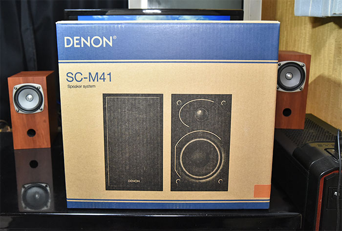DENON SC-M41のボックス