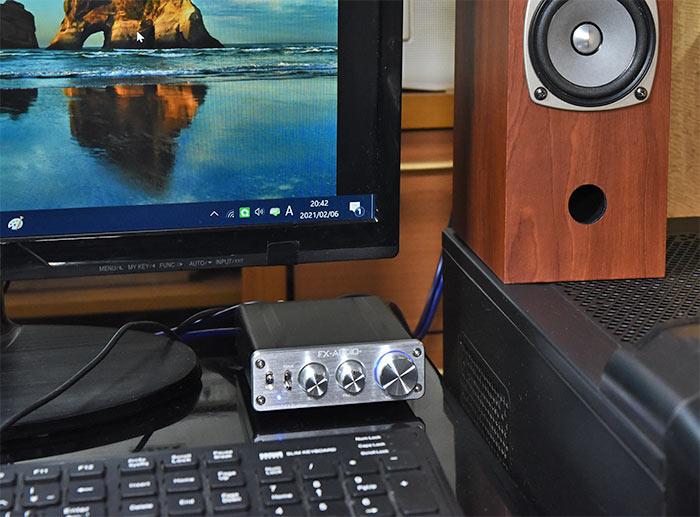 小型アンプ FX-2020A+customの音質