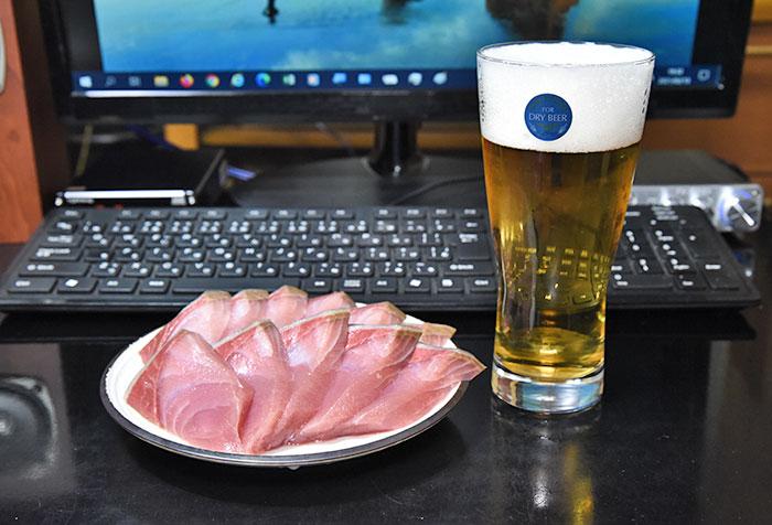 ピュアオーディオの例え話 天然ブリとビール