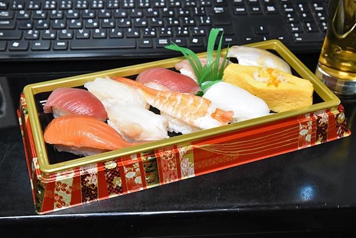 ピュアオーディオのたとえ話 握り寿司