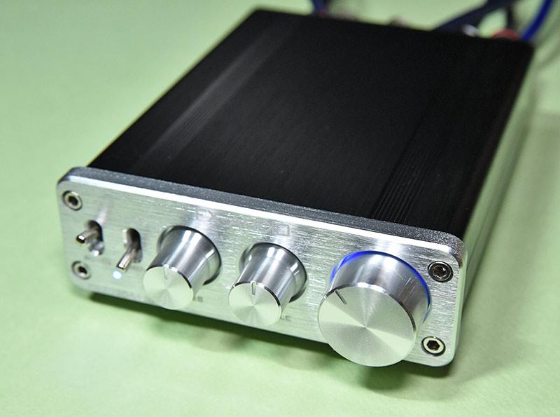小型アンプ FX-2020A+customの音質レビュー