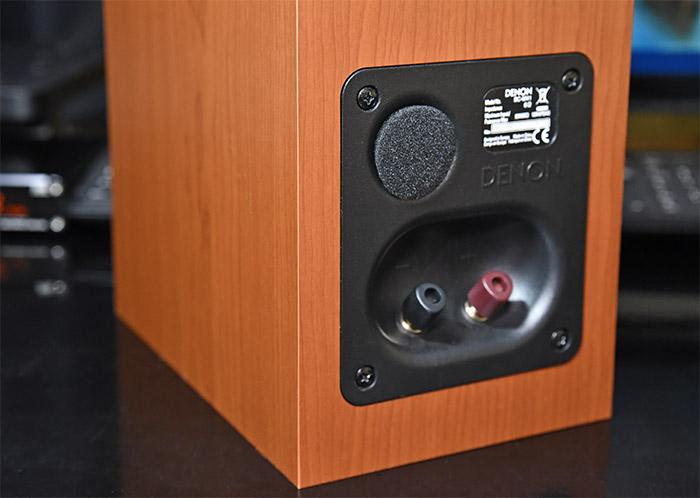 DENON SC-M41の吸音スポンジの使い方