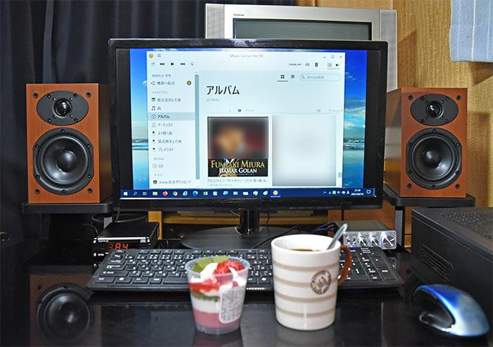 DSD 11.2MHzのハイレゾ音源
