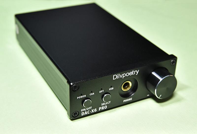 DAC-X6 PROのステップ式デジタルボリューム