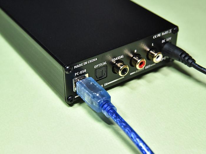 DAC-X6 PRO ヘッドホンアンプとPCとの接続方法