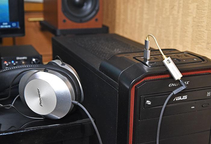 USBDAC iBasso DC02とヘッドホン