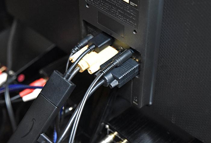 デジ像と液晶モニターとの接続