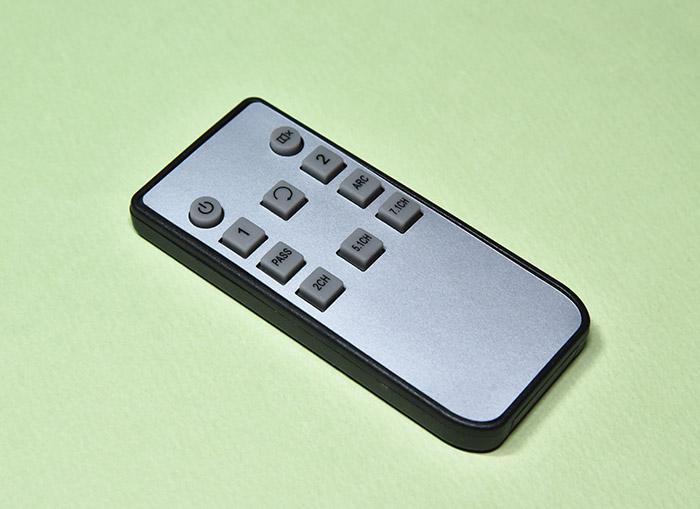 EHD-802N HDMI音声分離器のリモコン
